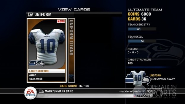 Madden Ultimate Team Screenshot #12 for Xbox 360