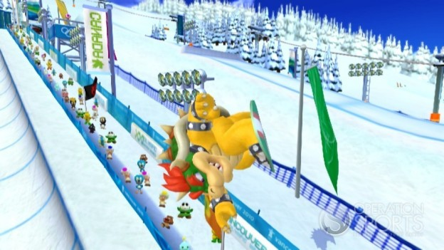 Mario & Sonic at the Olympic Games Screenshot #2 for Wii