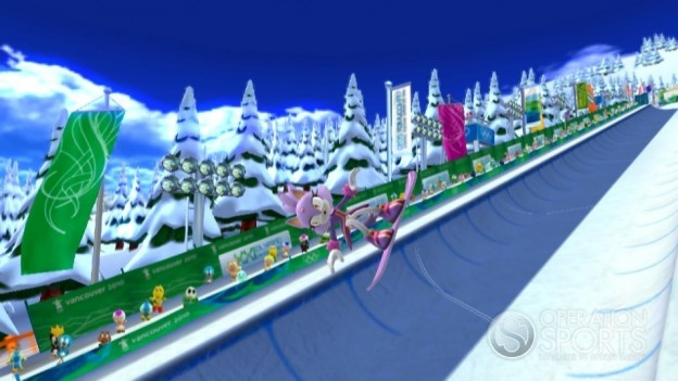 Mario & Sonic at the Olympic Games Screenshot #3 for Wii