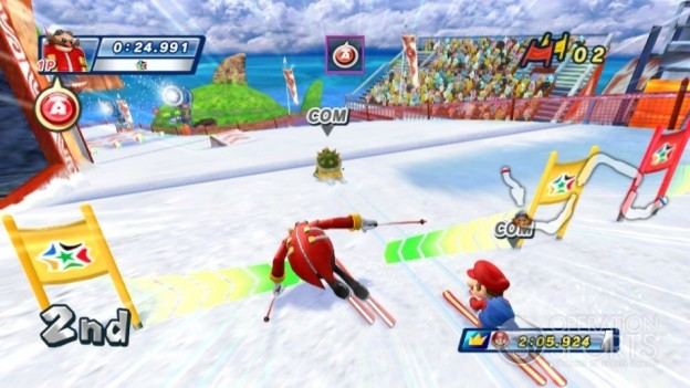 Mario & Sonic at the Olympic Games Screenshot #5 for Wii