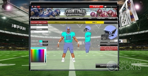FrontPage Sports Football Screenshot #5 for PC