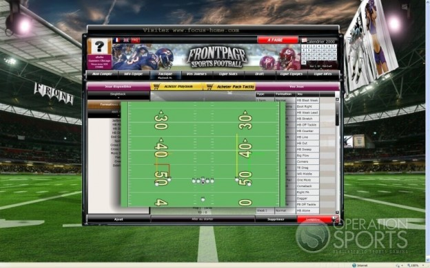 FrontPage Sports Football Screenshot #6 for PC