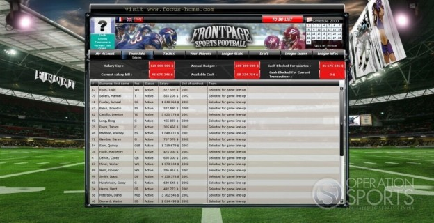 FrontPage Sports Football Screenshot #7 for PC