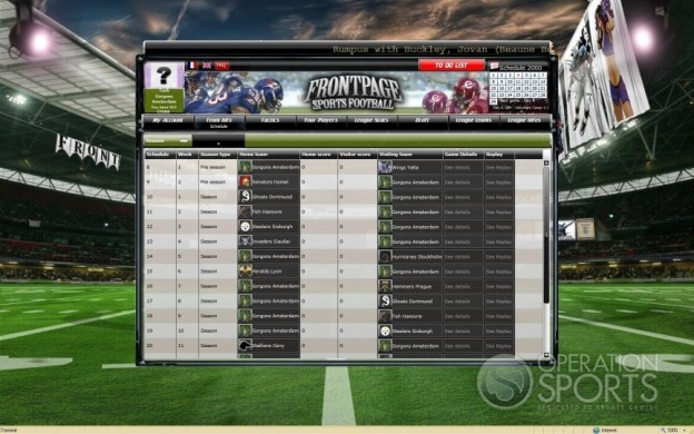 FrontPage Sports Football Screenshot #8 for PC