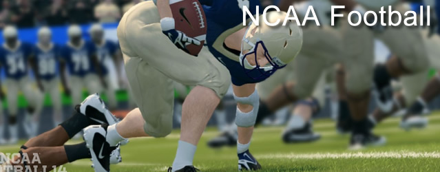 NCAA Football 14 Gameplay Hands-On