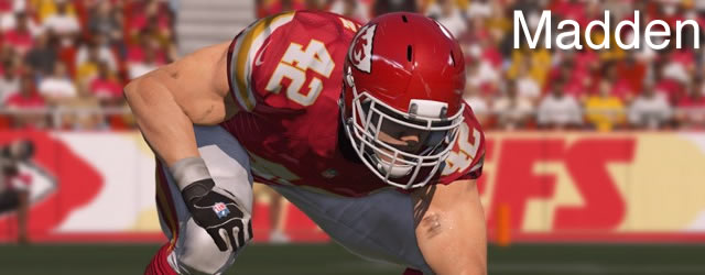 Top Five RBs/FBs in Madden NFL 15