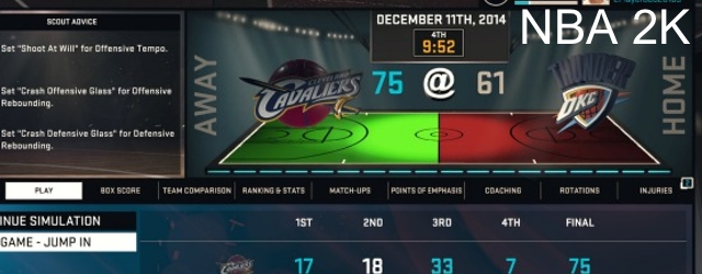 NBA 2K15's SimCast is its Most Underrated Feature