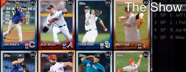 MLB 15 The Show: Diamond Dynasty Hits and Whiffs
