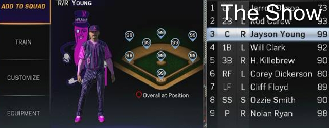 MLB 15 The Show: How to Use Your Created Player in Diamond Dynasty