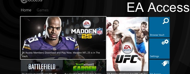 Don't Expect EA Access on the PS4 Anytime Soon