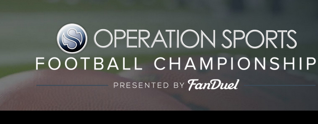 Operation Sports Fantasy Football Championship on FanDuel