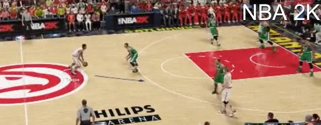 NBA 2K16's Aggressive On-Ball Physicality
